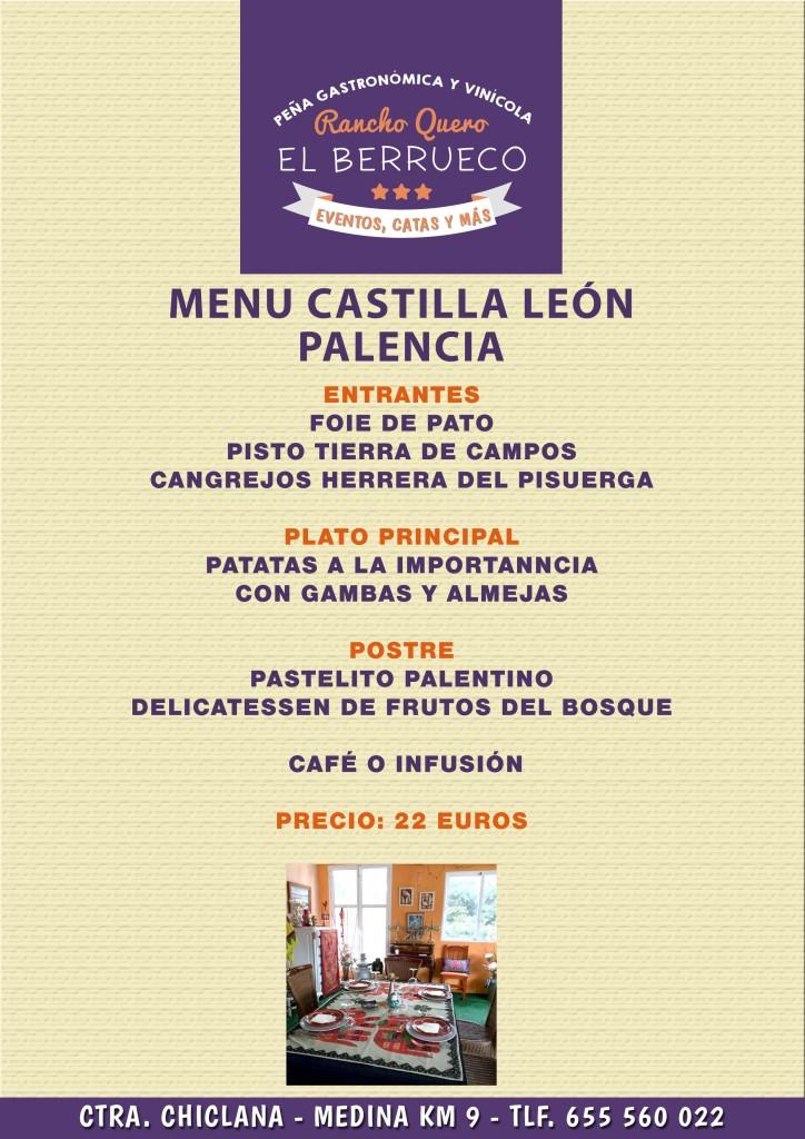menu palencia
