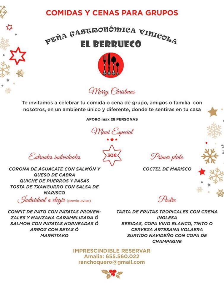comidas o cenas navideas del de noviembre al de diciembre